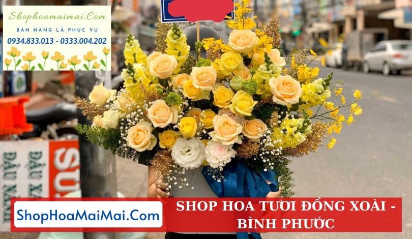 Mua hoa tươi online Đồng Xoài