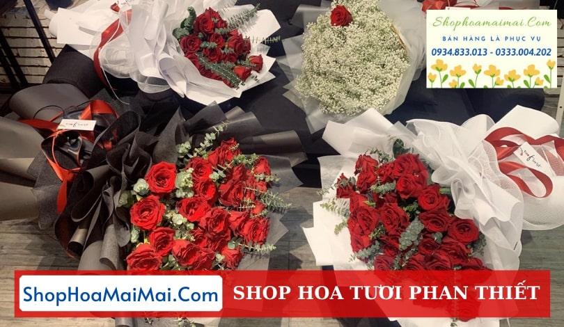 Tiệm hoa tươi chất lượng Phan Thiết
