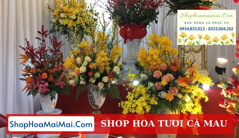Shop hoa tươi tại Cà Mau