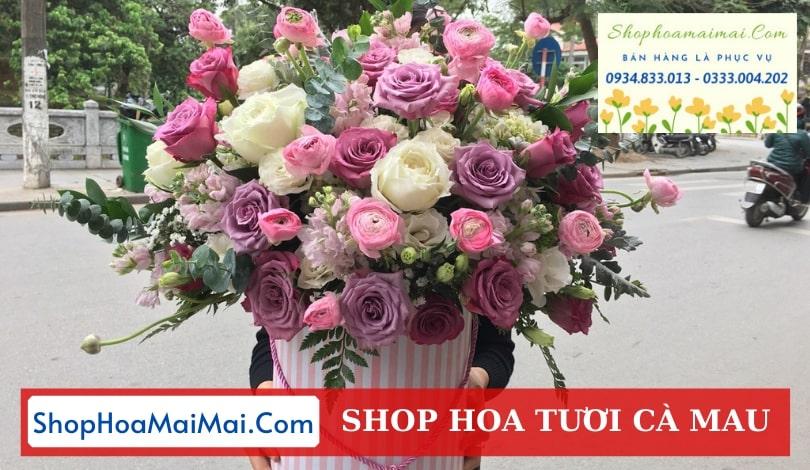 Tiệm hoa tươi chất lượng Cà Mau