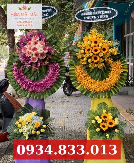 Đặt Vòng Hoa Viếng Tại TT Phước An