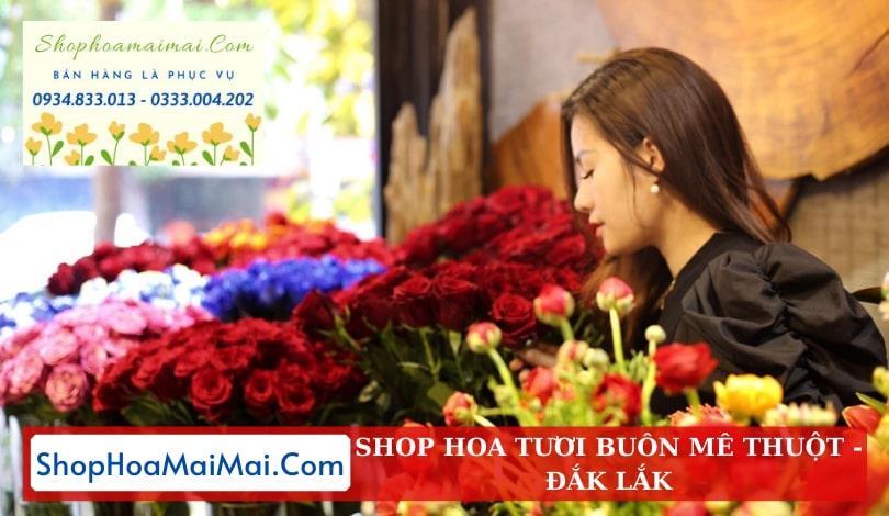 Shop hoa tươi tại Buôn Mê Thuột