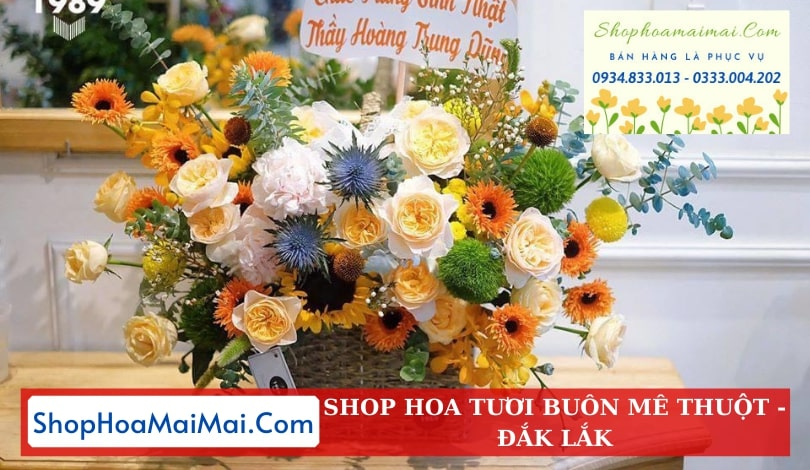 Điện hoa tươi Đắk Lắk