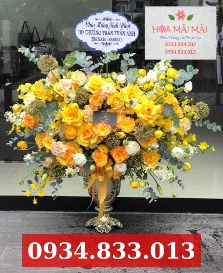 Cắm hoa theo yêu cầu Điện Biên