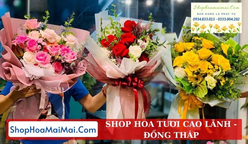 Shop hoa tươi tại Cao Lãnh