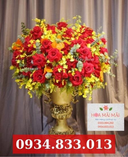 Tiệm hoa tươi tại Cao Lãnh
