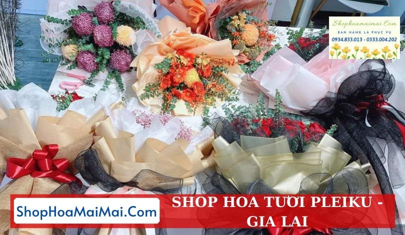 Shop hoa tươi tại Pleiku