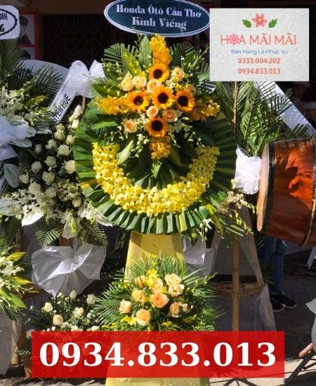 Mua hoa tang lễ online tại Pleiku