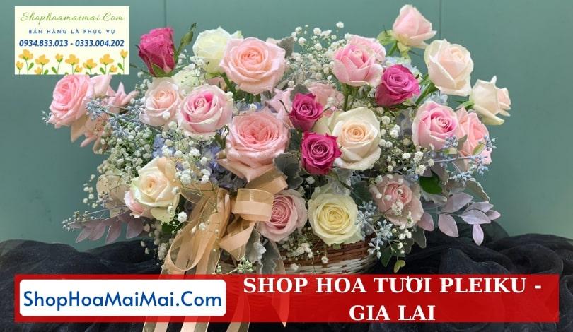 Tiệm hoa tươi uy tín Gia Lai