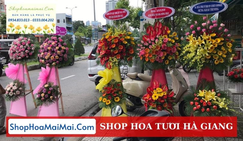 Cửa hàng hoa khai trương Hà Giang