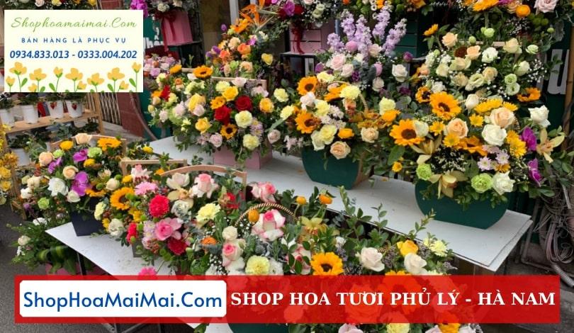 Shop hoa tươi tại Phủ Lý