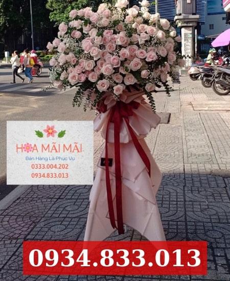 Mua hoa khai trương online Hòa Xuân