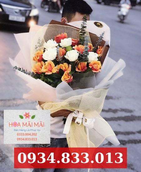 Cắm hoa sinh nhật theo yêu cầu Nha Trang