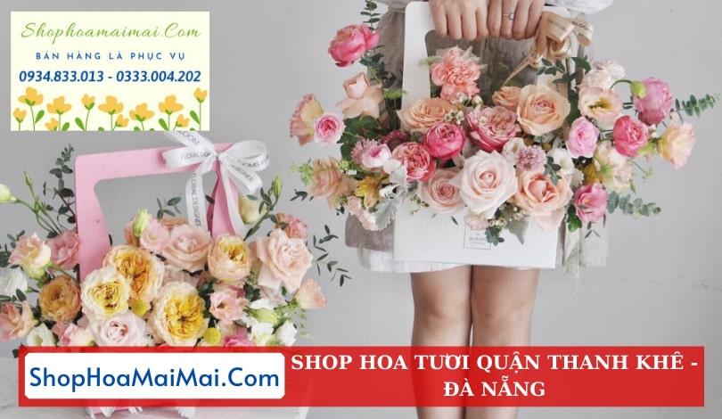 Shop hoa tươi uy tín Thanh Khê Đà Nẵng