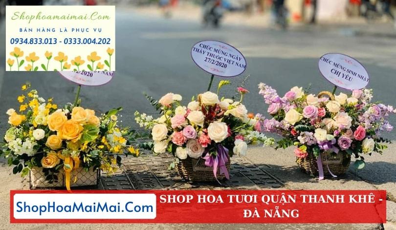 Tiệm hoa tươi quận Thanh Khê