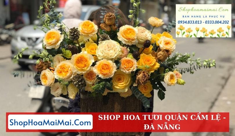 Đặt hoa tươi online Cẩm Lệ