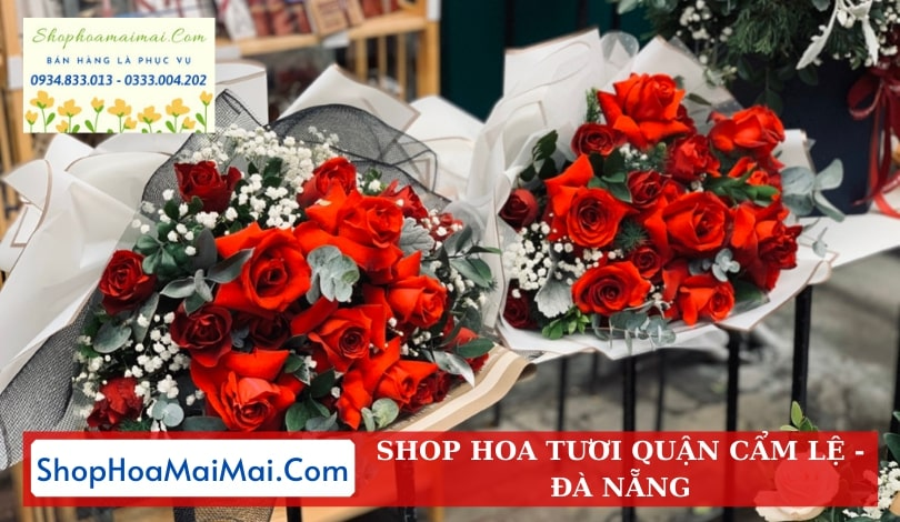 Mua hoa tươi online quận Cẩm Lệ