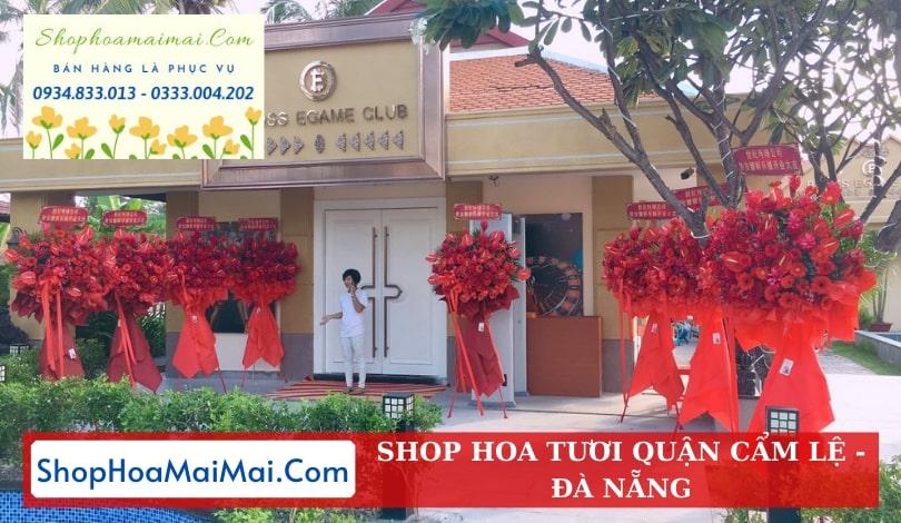 Điện hoa tươi online quận Cẩm Lệ