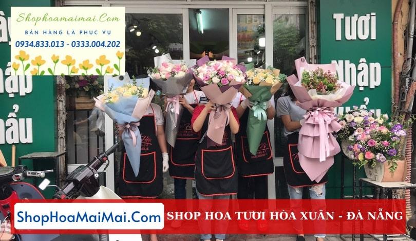 Đặt hoa tươi online Hòa Xuân