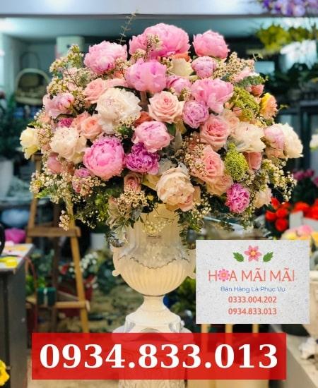 Tiệm hoa tươi uy tín Hòa Xuân