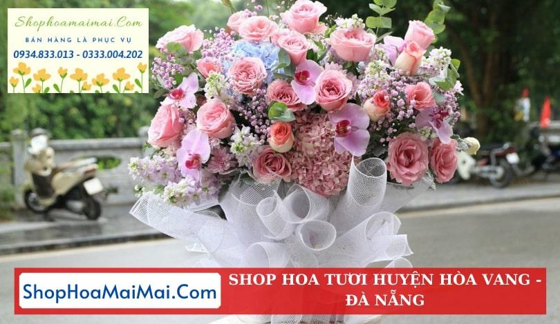 Tiệm hoa tươi uy tín Hòa Vang