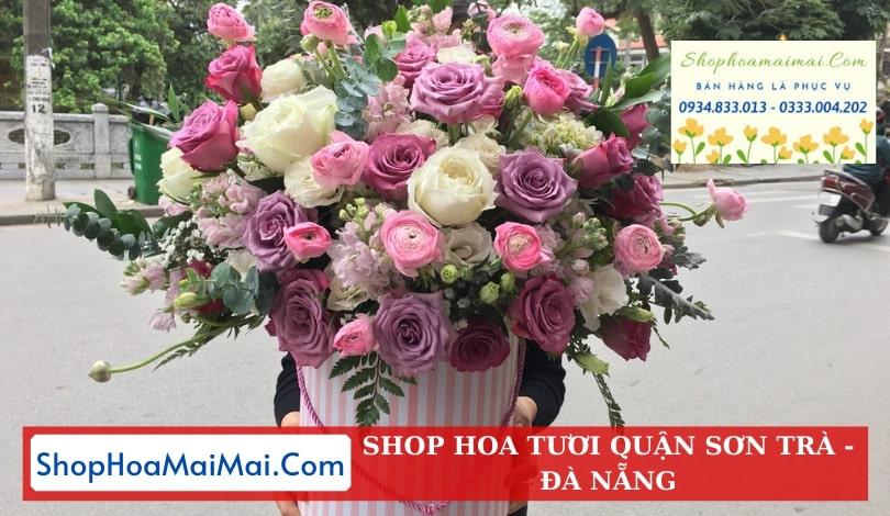 Ship hoa tươi tận nơi quận Sơn Trà