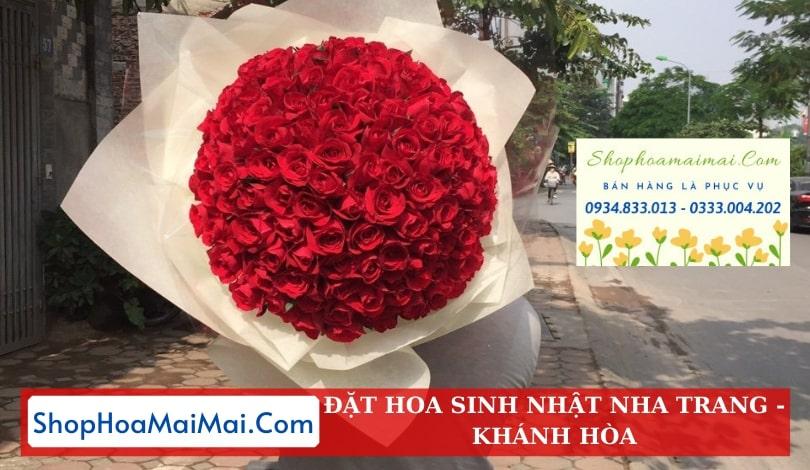 Mua hoa sinh nhật online Nha Trang