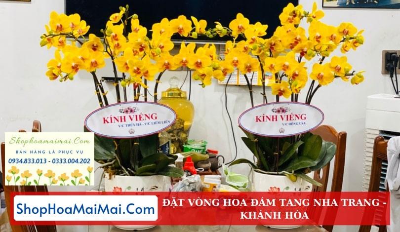 Giao hoa viếng tận nơi tại Nha Trang