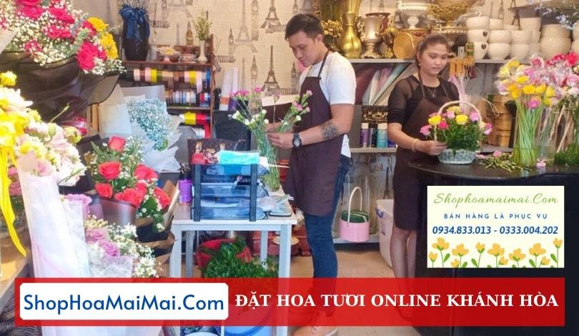 Shop hoa tươi tại Nha Trang