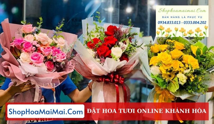 Tiệm hoa tươi tại Khánh Hòa