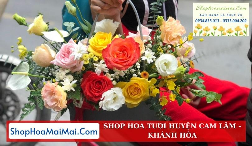 Đặt hoa tươi online Khánh Hòa
