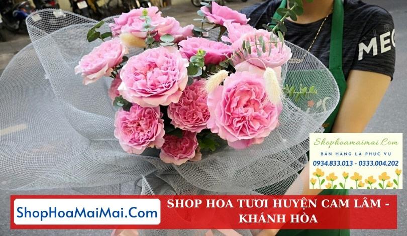 Ship hoa tận nơi tại Khánh Hòa