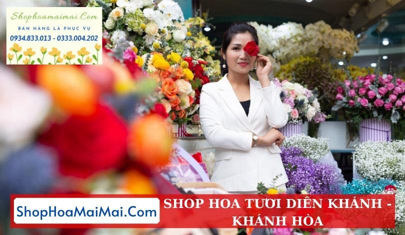 Cửa hàng hoa tươi huyện Diên Khánh