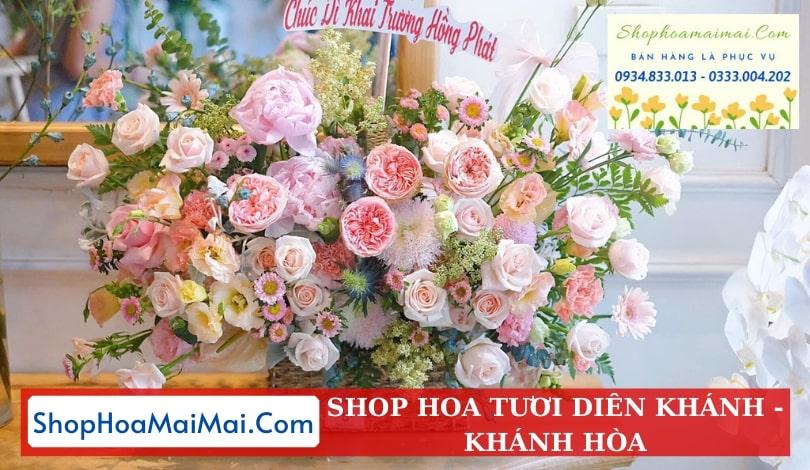 Mua hoa tươi online tại Diên Khánh