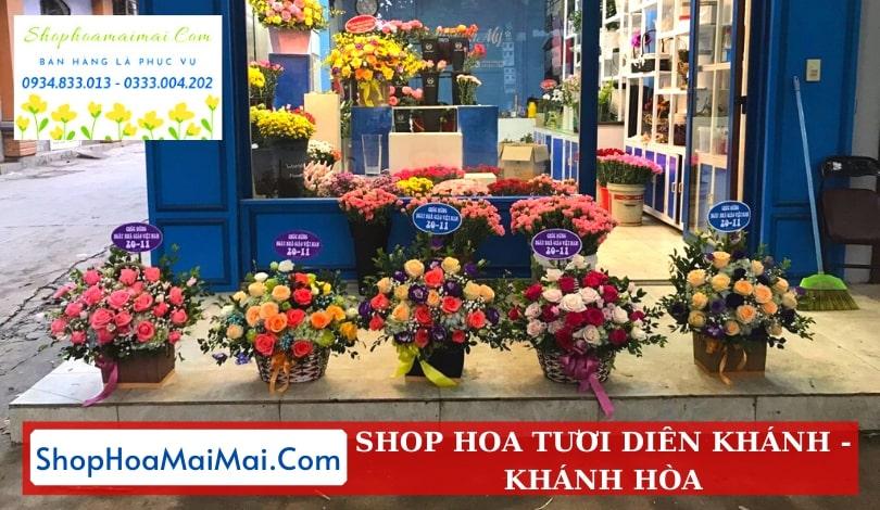 Cửa hàng hoa tươi Diên Khánh