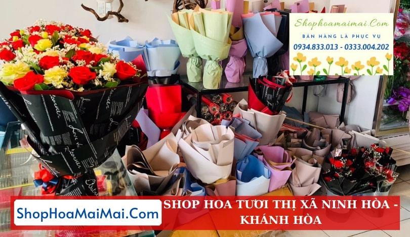 Cửa hàng hoa thị xã Ninh Hòa