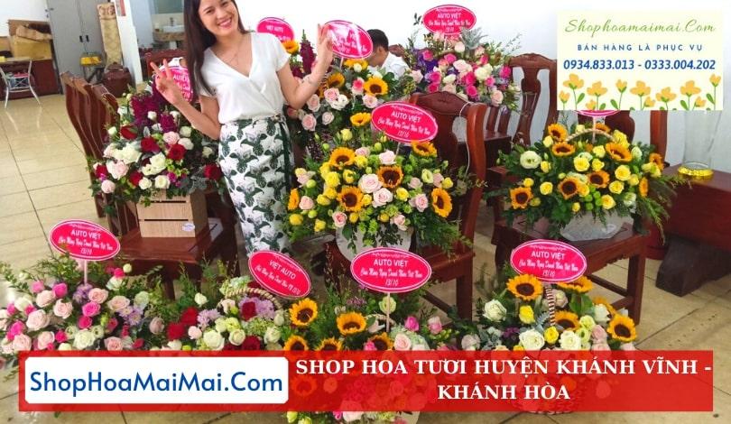 Shop hoa tươi huyện Khánh Vĩnh