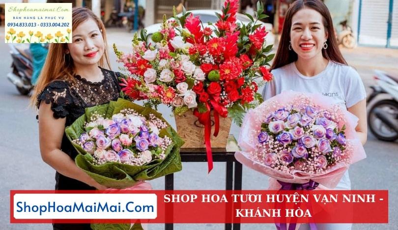 Shop hoa tuoi huyện Vạn Ninh