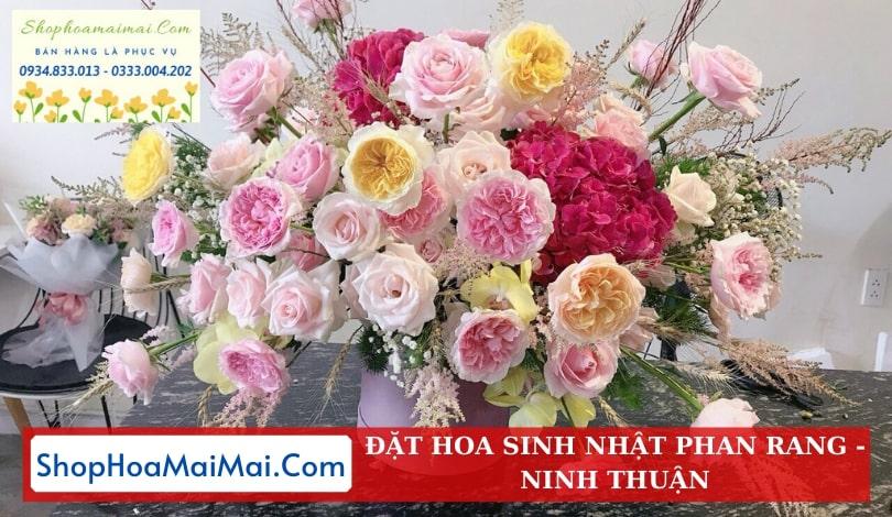 Tiệm hoa sinh nhật Ninh Thuận