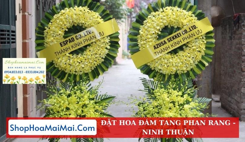 Tiệm hoa tang lễ Ninh Thuận