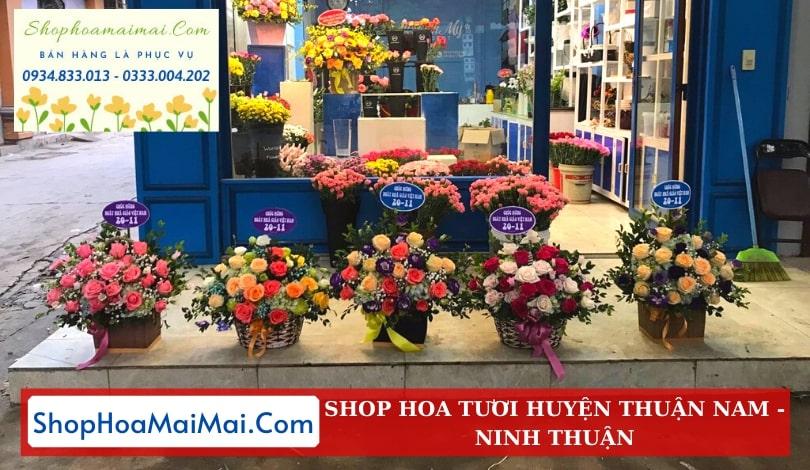 Cửa Hàng Hoa Huyện Thuận Nam