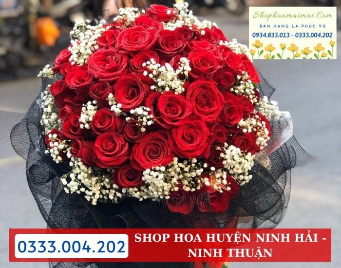 Cắm Hoa Theo Mẫu Huyện Ninh Hải