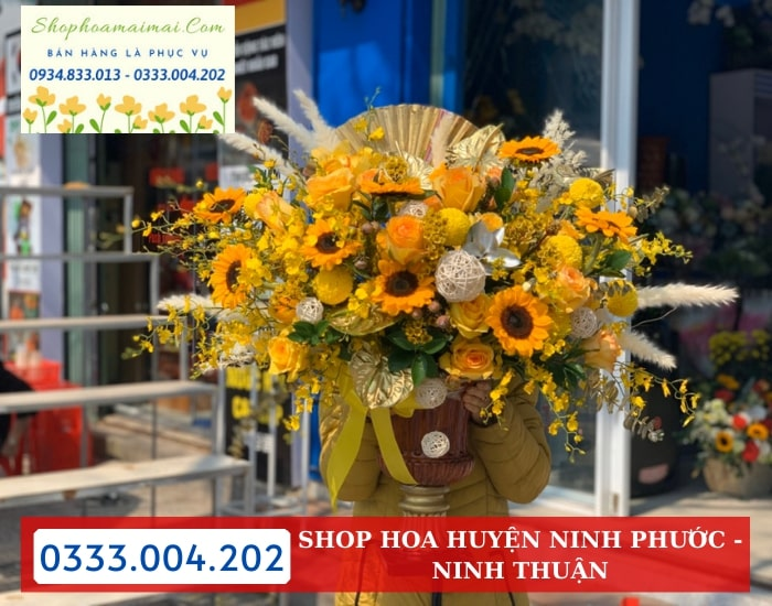 Tiệm Hoa Tươi Huyện Ninh Phước