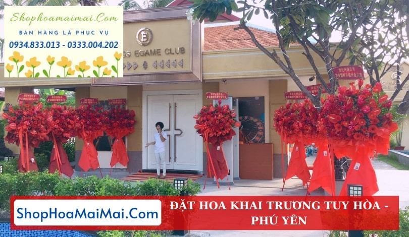 Shop Hoa Khai Trương Tuy Hòa