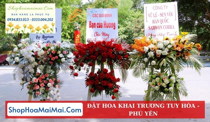 Tiệm Hoa Khai Trương Tại Tuy Hòa