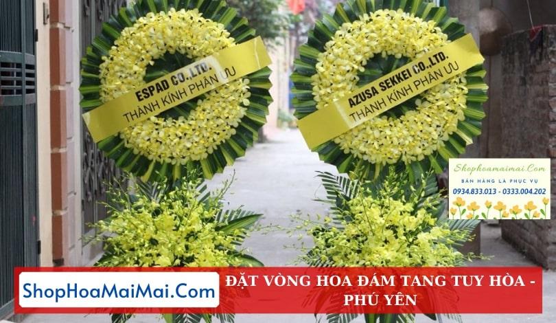 Mua Vòng Hoa Viếng Online Tại Tuy Hòa
