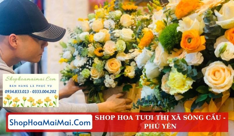 Shop Hoa Tươi Thị Xã Sông Cầu