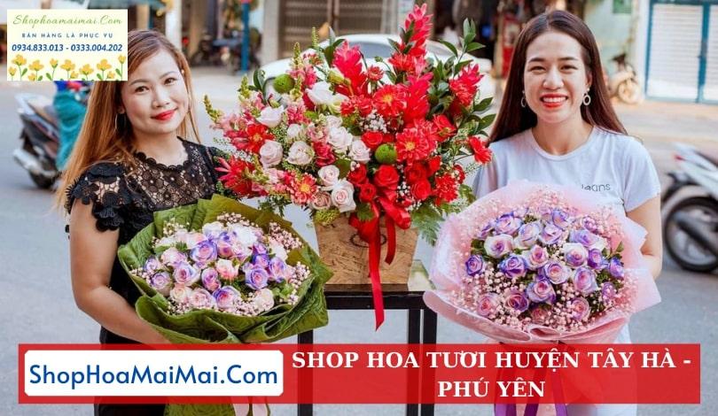 Tiệm Hoa Tươi Uy Tín Huyện Tây Hà