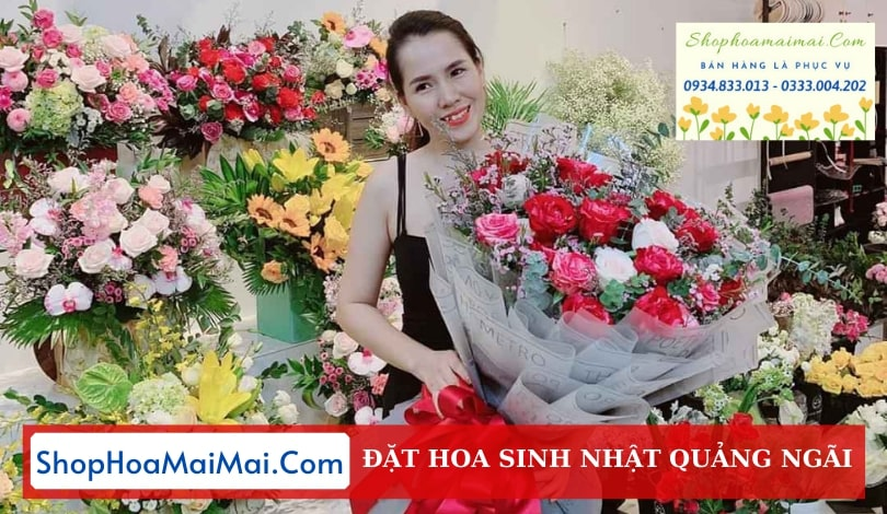 Shop HOa Sinh Nhật Quảng Ngãi