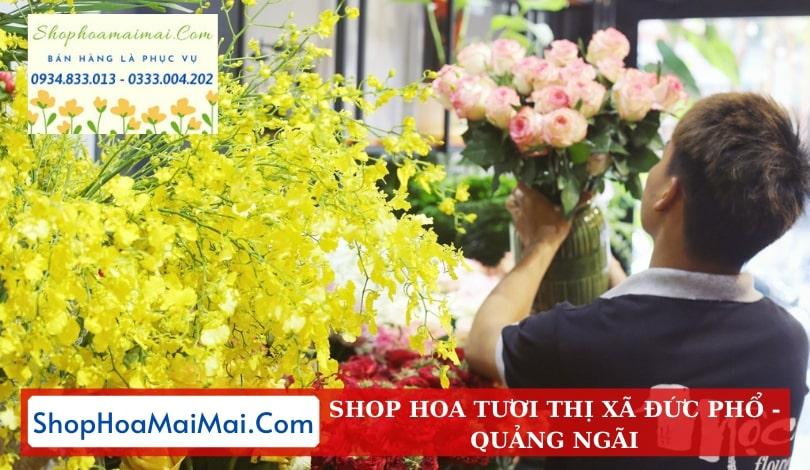 Shop Hoa Thị Xã Đức Phổ
